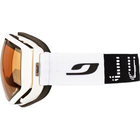 Julbo Titan Gogle, white-black/zebra/gold flash